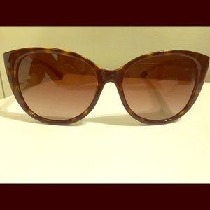 Coach large cat eye sunglasses.